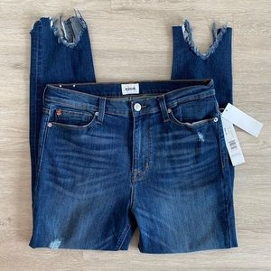 NWT Hudson Blair Super Skinny Jeans Stretch Chewed